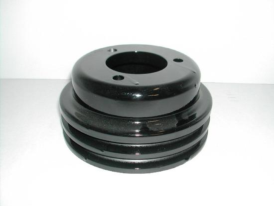 2 groove crank pulley for all early model Ford 302 & 351 applications with three bolt harmonic balancer.