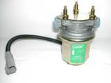 Low pressure Carter electric fuel pump used current carbureted engines.
