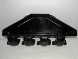 Exhaust manifold for PCM big block Chevrolet engines.